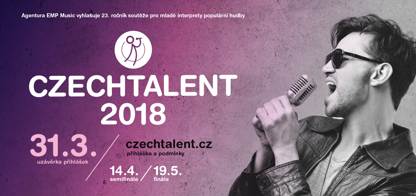 Czechtalent 2018 billboard vyhlaseni web text